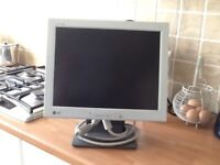 """This's is a 14"""" LG monitor is first class condition"""