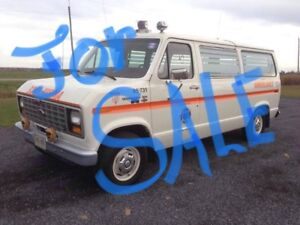 Ford ambulance make me and OFFER