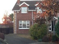 TO LET 3BED SEMI-DETACHED IN KILTARIFF DRIVE RATHFRILAND CLOSE TO TOWN CENTRE AND LOCAL AMENITIES