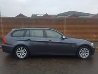 BMW 318D TOURING, FULL LEATHER, LONG MOT, 3 MONTH WARRANTY, FULL SERVICE HISTORY ONLY £3695