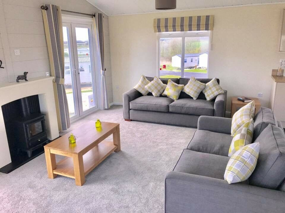 New Luxury Low Priced Lodge For Sale On A Stunning Seaside Holiday Park