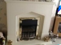 Real coal effect fire suite
