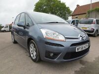 2008/58 Citroen C4 Picasso 5 VTR+ 1.6 diesel, grey, ONLY 26k!! Full Citroen History!! NEW MOT!!