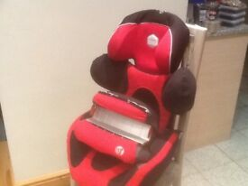 Award winning,multi-million selling KiddyPro ENERGY group1 car seat for 9mths to 4yrs-washed&cleaned