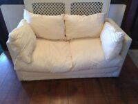 Off-White/Cream Colour Sofa Bed Futon