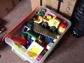 Large Box of Duplo