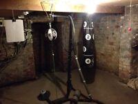 Punching bag metal stand