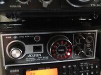 Unique radio and scanner
