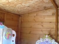 wooden playhouse, excellent condition