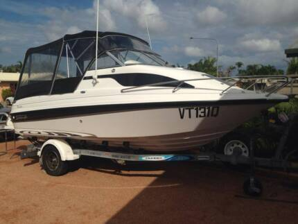 Stejcraft Islander 580 with Johnson 115HP 2 Stroke Outboard Cairns North Cairns City Preview