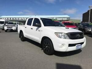 2011 Toyota Hilux SR crew cab 4*2 turbo diesel Wangara Wanneroo Area Preview