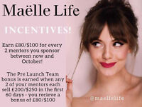 Build your own online beauty business from home with MAELLE