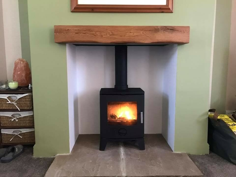 Oak Beam Fireplace Beams Stove Floating Mantel Surrounds Timber Mantle