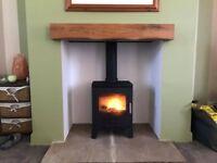Oak Beam, Fireplace beams, Stove, Floating Mantel, Stove Surrounds, Timber Beam, Mantle, Glulam