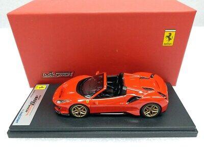 Ferrari 488 Pista Spider Rosso Scuderia LOOKSMART MODEL 1/43 #LS496E