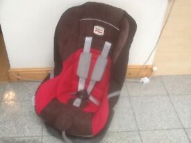 Britax Eclipse Deluxe group 1 car seat for 9mths to 4trs(9kg-18kg child weight)excellent condition