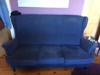 COUCH FOR SALE, MUST GO BY TOMORROW 8.30AM. PICK UP ONLY, £30