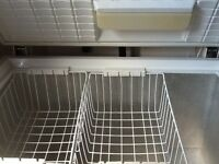 Chest freezer. Full working order. Frigidaire 93.5 cm w x 66.5 cm d. Buyer to collect.