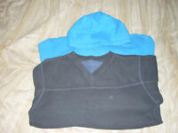Boys v neck fleece and hooded sweatshirt