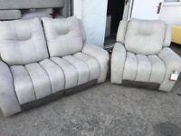 Electric recliner 3 seater sofa and Armchair
