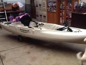 Hobie Mirage Outback Kayak, as New. $1,800 . Ono Largs North Port Adelaide Area Preview
