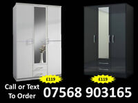 WARDROBE BRAND NEW ROBES WARDROBES CLEARANCE PRICES FAST DELIVERY 3