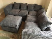 NEW LIVERPOOL JUMBO CORD CORNER SOFA AVAILABLE IN 3+2 SOFA SET AS WELL👑