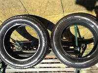 Hankook tyres part worn 6/7 ml tread 225/60r 17 99h no repairs collection only