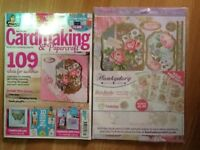Cardmaking & papercraft magazine brand new July edition