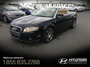 AUDI A4 2008 S-LINE + CABRIO + CUIR + MAGS + WOW !!