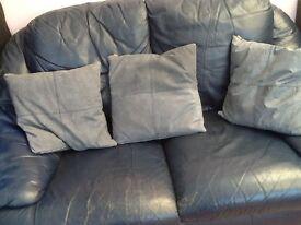 Blue two setter sofa free