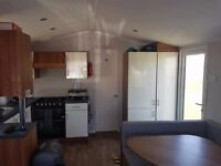 Caravan holiday home for rent.