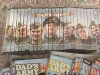 Complete collection of 27 Dads Army DVD,s and magazines as new