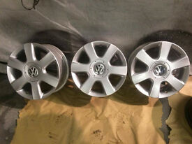 "refurbished VW Passat 2005 Alloy wheel 16"""