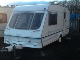 1999 swift JURA 2 berth end changing room with fitted mover