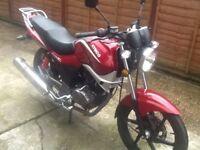 125 motorbike kymco 2014