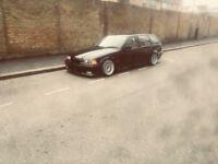 BMW e36 323i touring drift car modified