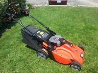 36 V Black and Decker Cordless Lawnmower