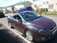 ford focus cc hard top converible {swap}p/x honda civic /deisal