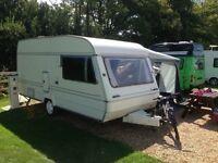 Abi quaser 4:50 4 berth clean lightweight caravan