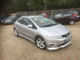 2009 HONDA CIVIC TYPE-S 1.8 6 SPEED MANUAL LOW MILES NEW CLUCTH