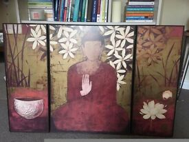 Large Buddha Wall Picture