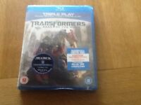 Transformers. Dark of the moon. Blu-Ray and DVD