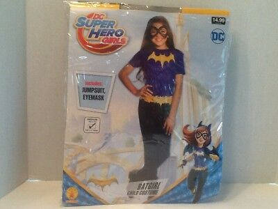 New Batgirl Child Costume Size M (8-10) For 5-7Years Kids Girl DC NWT Super Hero - Batgirl Costume For Child