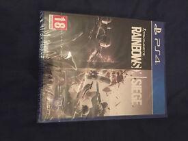 PS4 RAINBOWSIX SIEGE Brand new unopened