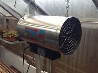 Hotbox Elite greenhouse electric fan heater