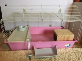 Indoor Guinea pig / rabbit cage - comes with all accessories