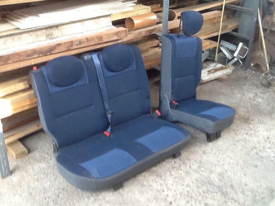 Citroen Berlingo Rear Seats Van Conversion Camper