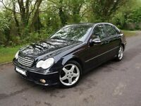 "2006 Mercedes C220 CDI Sport Edition - AMG Aero Kit - Genuine 18"" AMG Staggered Wheels - STUNNING!"