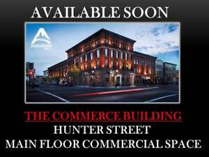 MAIN FLOOR COMMERCIAL SPACE IN DOWNTOWN PETERBOROUGH!